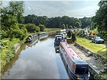 SD9151 : Leeds and Liverpool Canal at East Marton by David Dixon