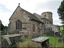 SJ9743 : All Saints' Church, Dilhorne by David Weston