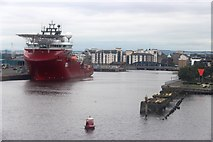 NT2677 : The Western Harbour, Leith by Alan Reid