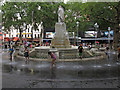TQ2980 : Fountain in Leicester Square by Free Man