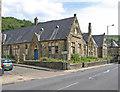 SD9126 : Cornholme - former Vale Board School - west end by Dave Bevis