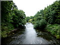 H7544 : River Blackwater, Tyrone / Armagh by Kenneth  Allen