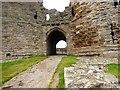 NU2521 : The Entrance Gate, Dunstanburgh Castle by Bill Henderson