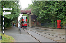 SK3455 : Crich Tramway Village by Andrew Hackney