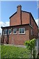 SO6554 : Rear of the Drill Hall - Kirkham Gardens by John M