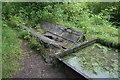 SK2855 : Inverted waggon boiler - Cromford & High Peak Railway by Chris Allen