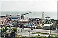 TQ8884 : Southend Pier, 2001 by Ben Brooksbank