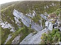 NH1160 : Exposed rock and scree by Alpin Stewart