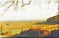 SO8228 : Eastward above Tirley, autumn  1988 by Ben Brooksbank