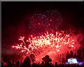 TL2408 : Firework Display at the Battle Proms, Hatfield House, Hertfordshire by Christine Matthews