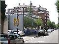 TQ2782 : Two flavours of modern, Broadley Terrace by Robin Stott