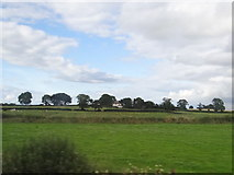 N4120 : Fields and distant dwelling by Ian Paterson