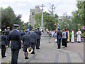 SP9211 : The Remembrance Service at Tring War Memorial by Chris Reynolds