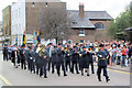 SP9211 : The Military Band leaves Church Square by Chris Reynolds