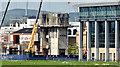 J3475 : CQ1, City Quays, Belfast - August 2014(4) by Albert Bridge