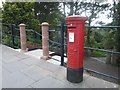 NT9953 : Post box, Berwick-upon-Tweed railway station by Graham Robson