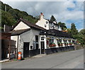 SO5516 : The Wye Knot Inn, Symonds Yat West by Jaggery