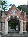 SP9211 : Gatehouse to Sutton Court, Tring by Jim Osley