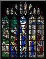 SP1501 : Stained glass window, n.II, St Mary's church, Fairford by Julian P Guffogg