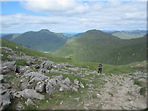 NN2605 : The last few feet to the ridge by David Medcalf