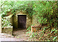 J3369 : Old air raid shelter, Belvoir forest, Belfast (August 2014) by Albert Bridge