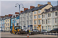 SN5882 : Refilling the planters, Marine Terrace by Ian Capper