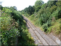TQ1479 : The Brentford to Southall freight line seen from Three Bridges by Marathon
