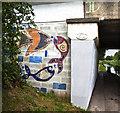 SJ3599 : Canal art? by Ian Greig