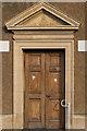 SO0451 : Doorway, former Builth Wells Sorting Office by Ian Capper