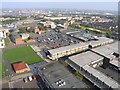 NZ3064 : Aerial View of Hebburn Town Centre in South Tyneside by Andrew Tryon