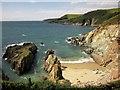 SX5847 : Carswell Cove by Derek Harper