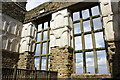 SK4663 : Windows and Plasterwork at Hardwick Old Hall by Jeff Buck