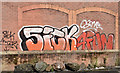 J3474 : Graffiti, Belfast (August 2014) by Albert Bridge