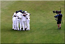 SJ8195 : At the Cricket 4 by Anthony O'Neil