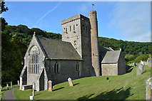 SY1988 : St Winifred, Branscombe by Philip Pankhurst