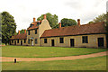 SP8542 : Great Linford Almshouses by Richard Croft