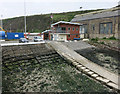 SM9539 : Fishguard lifeboat station by Hugh Venables