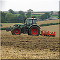 TA0120 : Cultivating near Barton Grange by David Wright