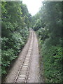 TQ3327 : Ardingly Stone Depot Branch Line by Robert Skipworth