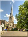 SK3871 : The Church of St Mary and All Saints, Chesterfield by David Dixon