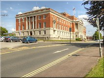 SK3771 : Chesterfield Town Hall, Rose Hill by David Dixon