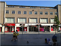 SX9292 : Princesshay shopping centre frontage, High Street, Exeter by Robin Stott