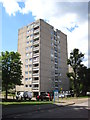 TQ2174 : High rise flats on Tunworth Crescent by Chris Holifield