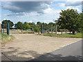 SU8772 : Frost Folly car park by Alan Hunt