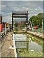 SK9871 : Guillotine Lock at Stamp End by David Dixon
