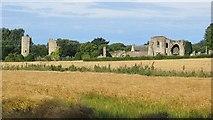 NJ0661 : Kinloss Abbey by Richard Webb