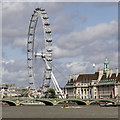 TQ3079 : The London Eye from Lambeth Bridge by David P Howard