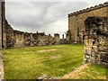 SK9771 : Bishops' Palace Remains, Lincoln by David Dixon
