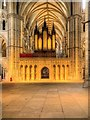 SK9771 : Lincoln Cathedral Pulpitum Screen by David Dixon