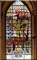 SK9771 : Bomber Command Memorial Window, St Michael's Chapel by David Dixon